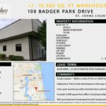 Warehouse - 108 Badger Park